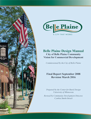 Cover of 2016 Belle Plaine Design Manual