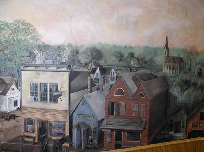 Belle Plaine historic mural painted by artist Lana K. Beck