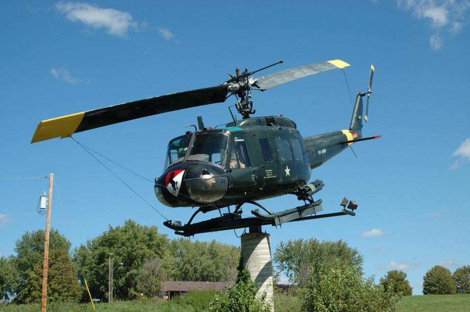 """U. S. Army UH-1H Iroquois """"Huey"""" Helicopter"""